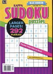 Blue Ribbon Kappa Sudoku