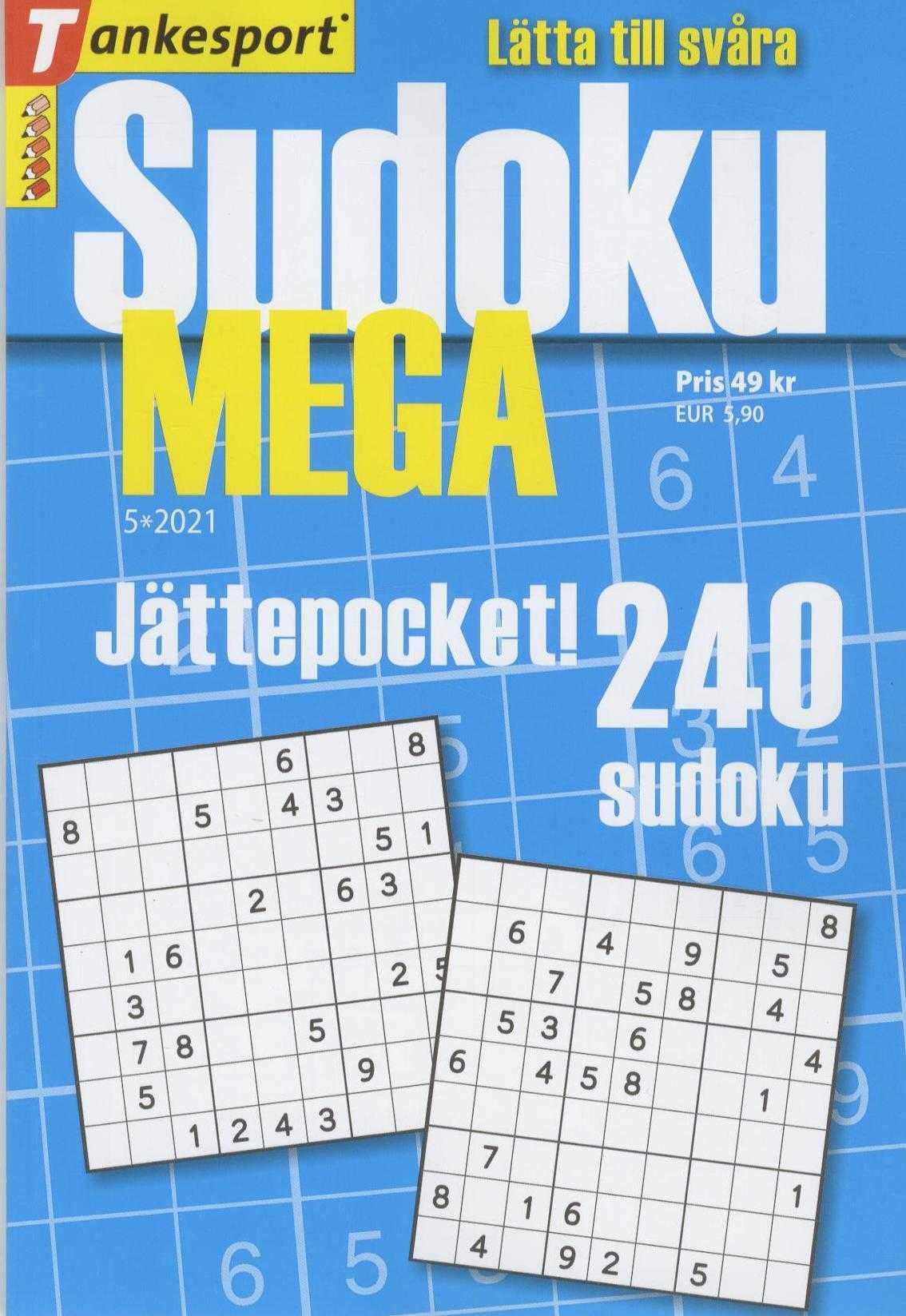 Allt om Sudoku MEGA